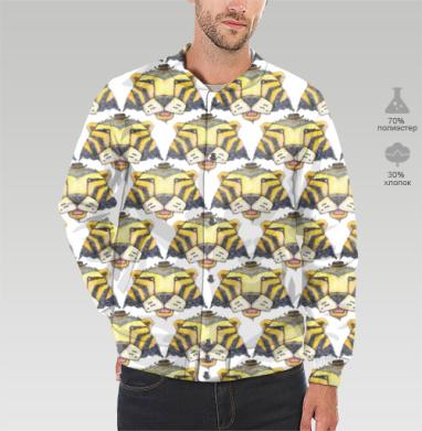 Тигр, Бомбер мужской 3D