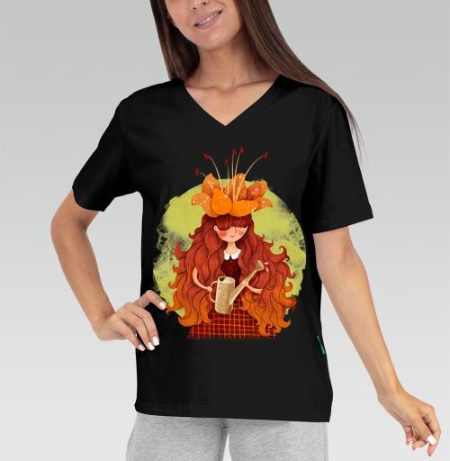 Футболка —  Фантазёрка от skylers | maryjane.ru - дизайнерские футболки