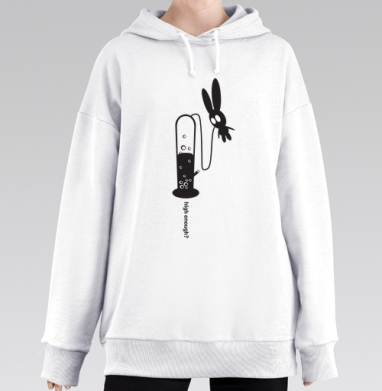 High Enough?, Hoodie Mjhigh Long White