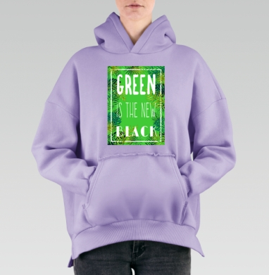 Green is the new black, Hoodie Mjhigh Lavanda